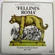 Discos de vinilo: ROMA. NINO ROTA. FELLINI. Lote 159133978