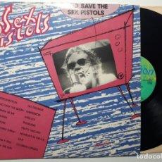 Discos de vinilo: DISCO LP VINILO THE SEX PISTOLS GOD SAVE THE SEX PISTOLS . Lote 159143462