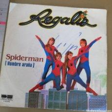 Discos de vinilo: REGALIZ - SPIDERMAN. Lote 159150870