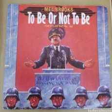 Discos de vinilo: MEL BROOKS - TO BE OR NOT TO BE. BSO. Lote 159156652