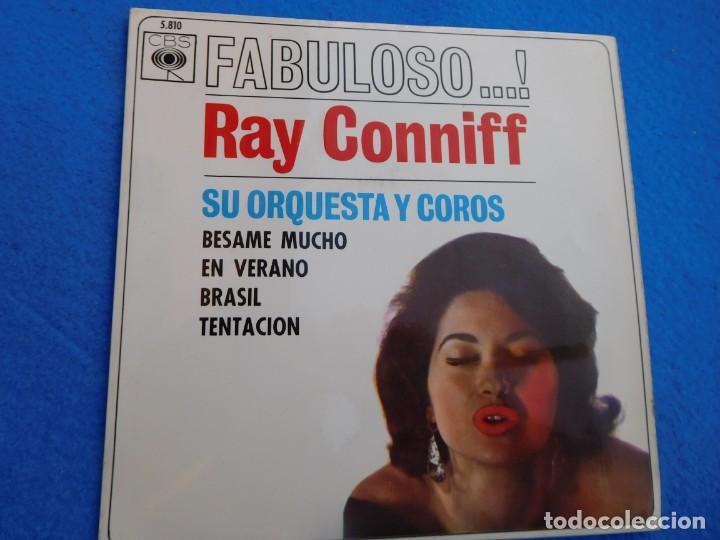 VINILO DE CUATRO TRABAJOS DE RAY CONNIFF, MEDIADOS DE LOS AÑOS 60 (Música - Discos - Singles Vinilo - Grupos y Solistas de latinoamérica)