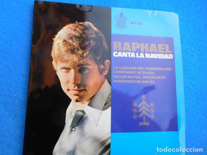 VINILO GRABADO POR RAPHAEL EN SU INICIO, PRINCIPIO DE LOS 60, MUY BUSCADO POR COLECCIONISTAS. (Música - Discos - Singles Vinilo - Solistas Españoles de los 50 y 60)