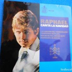 Discos de vinilo: VINILO GRABADO POR RAPHAEL EN SU INICIO, PRINCIPIO DE LOS 60, MUY BUSCADO POR COLECCIONISTAS.. Lote 159161090