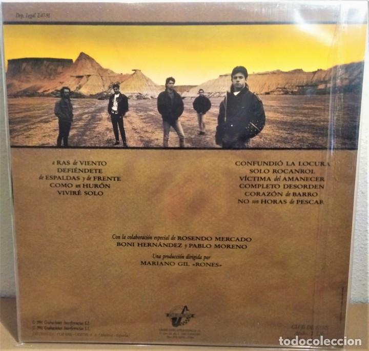 Discos de vinilo: TAKO VINILO LP No son horas de pescar Rock - Foto 2 - 159190484
