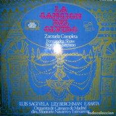 Discos de vinilo: LA CANCIÓN DEL OLVIDO.. Lote 159199902