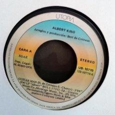 Vinyl records - Albert King – Guitar Man / Rub My Back Spain 1976 Electric Blues SIN PORTADA - 159200062