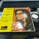 Discos de vinilo: NANA MOUSKOURI EP WHAT NOW MY LOVE + 3 ESPAÑA 1962. Lote 159217700