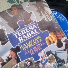 Discos de vinilo: SINGLE (VINILO) DE TERESA RABAL AÑOS 70. Lote 159219930