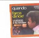 Discos de vinilo: WRSS & AIREDALES L'ARCA DI NOE' /QUANDO SERGIO ENDRIGO LUIGI TENCO LABEL DURIUM . Lote 159223094