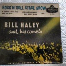 Discos de vinilo: EP DEL CANTANTE NORTEAMERICANO DE ROCK AND ROLL, BILL HALEY. Lote 159224390