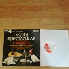 Discos de vinilo: VERDI SPECTACULAR, SELECCIÓN DE 15 MELODÍAS DE ALGUNAS ÓPERAS.. Lote 154943822