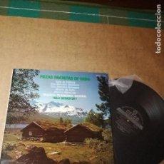 Discos de vinilo: PIEZAS FAVORITAS DE GRIEG.. Lote 152665062