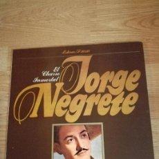 Discos de vinilo: JORGE NEGRETE, EL CHARRO INMORTAL. Lote 153873374