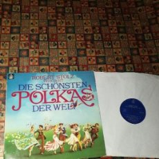 Discos de vinilo: POLKAS DIVERSAS DIRIGIDAS POR ROBERT STOLZ.. Lote 154323302