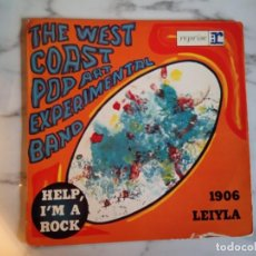 Discos de vinilo: WEST COAST POP ART EXPERIMENTAL BAND HELP I'M A ROCK PSICODELIA ACID EP 1967 ORIGINAL FRANCIA VG. Lote 159238066