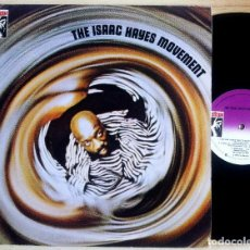 Discos de vinilo: ISAAC HAYES - THE ISAAC HAYES MOVEMENT - LP ESPAÑOL 1983 - STAX. Lote 159238130