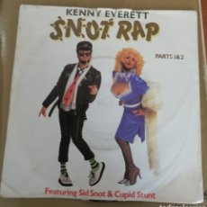 Discos de vinilo: KENNY EVERETT - SNOT RAP. Lote 159238154