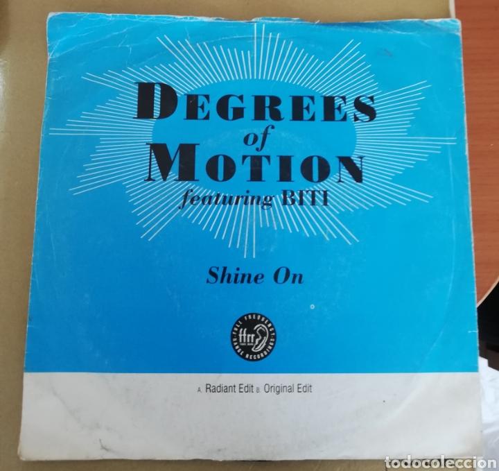 DEGREES OF MOTION - SHINE ON (Música - Discos - Singles Vinilo - Techno, Trance y House)
