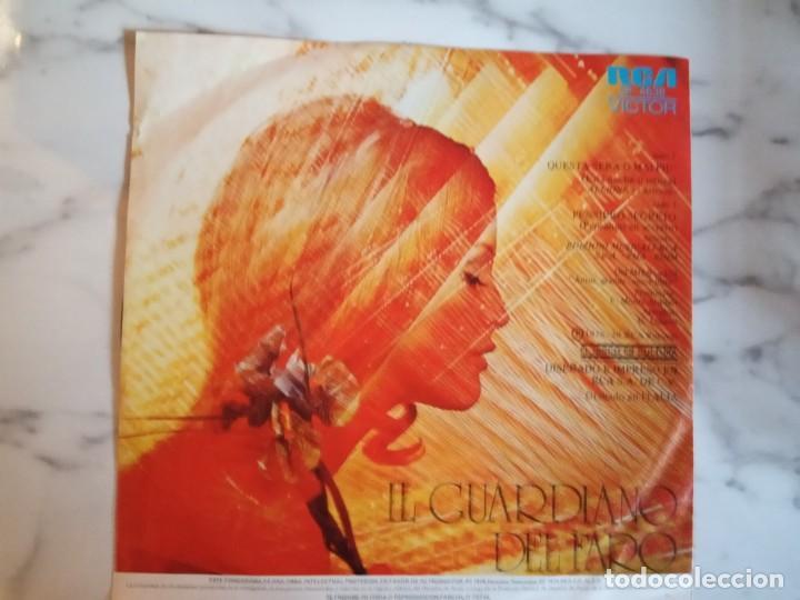 Discos de vinilo: IL GUARDIANO DEL FARO PENSIERO SEGRETO / QUESTA SERA O MAI PIU SOUND TRACK 1976 ORIGINAL MEXICO NM - Foto 2 - 159239534