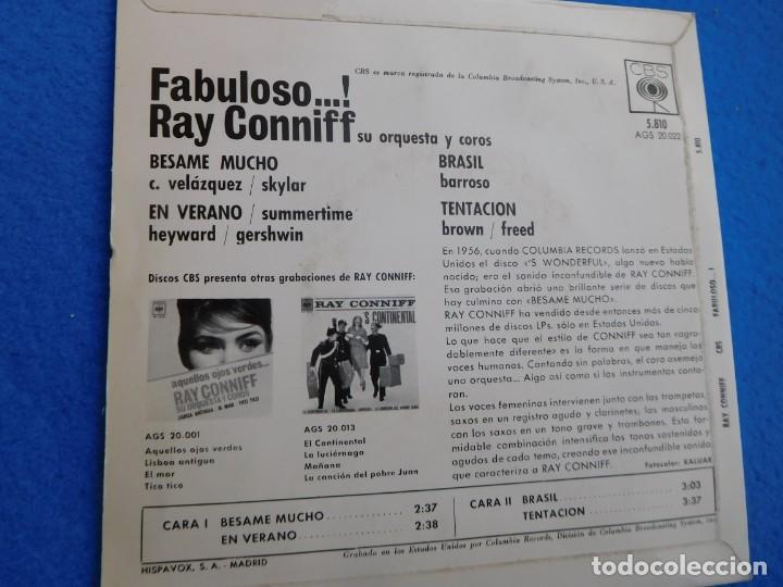 Discos de vinilo: Vinilo de cuatro trabajos de Ray Conniff, mediados de los años 60 - Foto 2 - 159160474