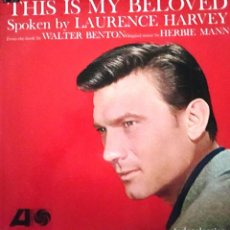 Discos de vinilo: LAURENCE HARVEY. THIS IS MY BELOVED. LP. Lote 159263082