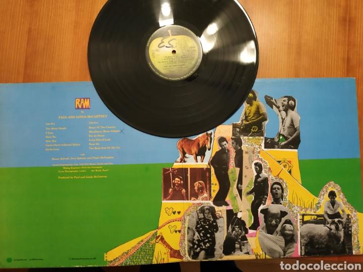BEATLES PAUL MCCARTNEY LP RAM Eicion UK APPLE