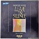 Discos de vinilo: DEPECHE MODE - LEAVE IN SILENCE = PARTIR EN SILENCIO SG PROMO ED. ESPAÑOLA 1982. Lote 159269426