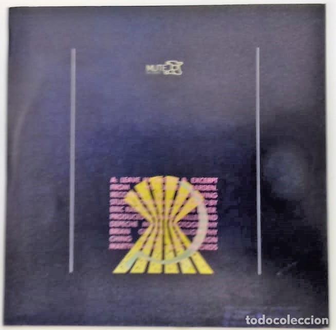 Discos de vinilo: DEPECHE MODE - LEAVE IN SILENCE = PARTIR EN SILENCIO SG PROMO ED. ESPAÑOLA 1982 - Foto 2 - 159269426
