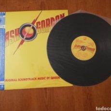Discos de vinilo: VINILO EDICIÓN JAPONESA DEL LP DE LA BSO DE FLASH GORDON MÚSICA DE QUEEN. Lote 159274428