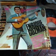 Disques de vinyle: ENRIQUE GUZMÁN EP ACOMPAÑAME + 3 1966 ESPAÑA. Lote 159274718
