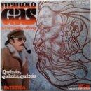 Discos de vinilo: MANOLO GAS & THE TINTO BAND BANG - QUIZAS, QUIZAS, QUIZAS / PATETICA SG ED. ESPAÑOLA 1976. Lote 159276710