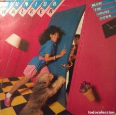 Discos de vinilo: JUNIOR WALKER BLOW THE HOUSE DOWN LP MOTOWN DISCO EXCELENTE. Lote 159277718