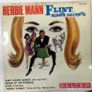 Discos de vinilo: HERBIE MANN - FLINT, AGENTE SECRETO EP ED. ESPAÑOLA 1966. Lote 159277910