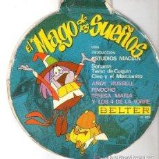 Discos de vinilo: SUEÑOS - SOÑARAS, TWIST DE CUQUIN, CLEO Y EL MARCIANITO- SINGLE BELTER 1966. Lote 159282978