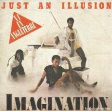 Discos de vinilo: IMAGINATION. JUST AN ILLUSION. SINGLE. VINILO.. Lote 159286314