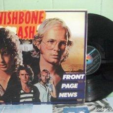 Discos de vinilo: WISHBONE ASH FRONT PAGE NEWS LP SPAIN 1977 PDELUXE. Lote 159287282