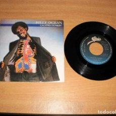 Discos de vinilo: DISCO VINILO SG 45. BILLY OCEAN - CALYPSO FUNKIN'. EPIC A-2637. AÑO 1982. Lote 159292082