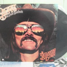 Discos de vinilo: DICKEYY BETTS & GREAT SOUTHERN ARDE ATLANTA LP SPAIN 1978 PDELUXE. Lote 159296998