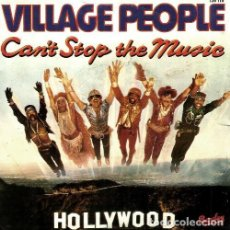 Discos de vinilo: S153 - VILLAGE PEOPLE. CANT STOP THE MUSIC. SINGLE. VINILO.. Lote 159297982