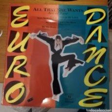 Discos de vinilo: EURO DANCE. RECOPILATORIO. 2 UNLIMITED, VANESSA PARADISE, DIANA CARROLL... Lote 159300906
