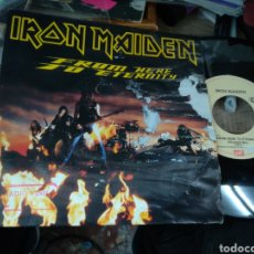 Discos de vinilo: IRON MAIDEN SINGLE FROM HERE TO ETERNITY 1992. Lote 159350665
