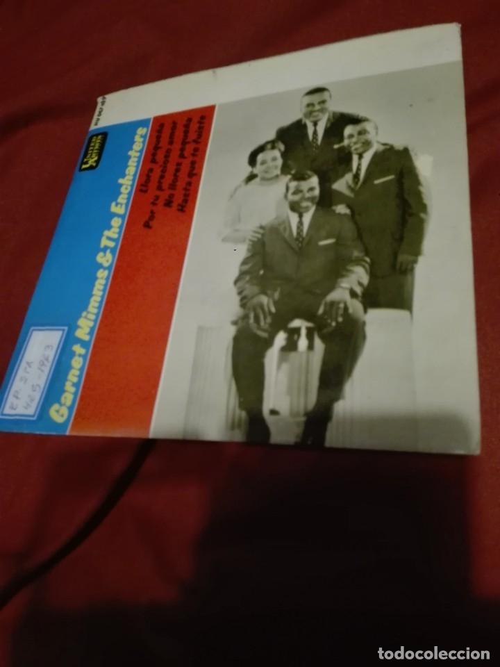 Discos de vinilo: GARNET MIMMS AND THE ENCHANTERS- LLORA PEQUEÑA ( CRY BABY ) + 3 - EP SPAIN 1963 ver foto - Foto 4 - 159353486