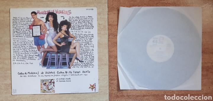 Discos de vinilo: Muñekas de Vallekas - Los Millonarios - 1989 - LP VINILO A ESTRENAR SIN USO - Foto 2 - 159357817