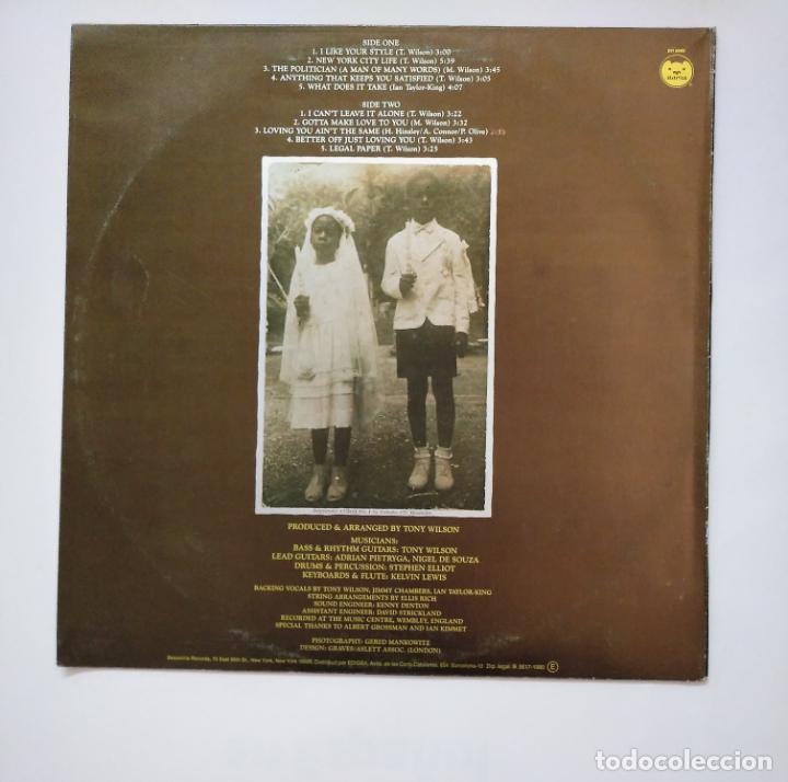Discos de vinilo: TONY WILSON. I LIKE YOUR STYLE. LP. TDKDA40 - Foto 2 - 159367750