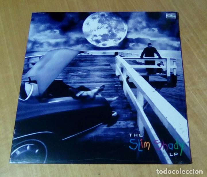 EMINEM - The Slim Shady LP (2LP 1999, Aftermath Ent / Interscope Records  606949028718) PRECINTADO