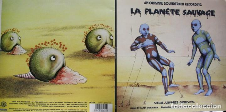 Discos de vinilo: LE PLANETE SAUVAGE. EL PLANETA SALVAJE. ALAIN GORAGUER. ROLAND TOPOR. RENE LALOUX - Foto 3 - 159374122