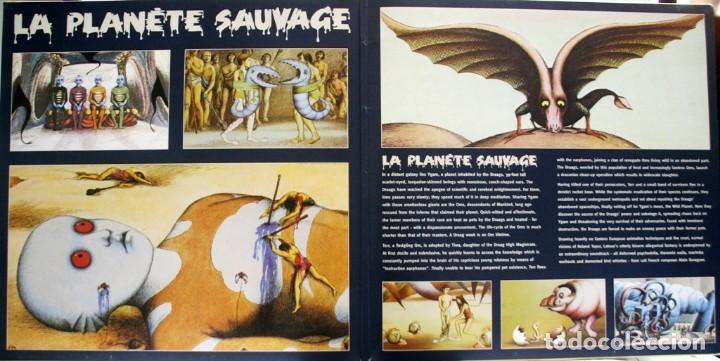 Discos de vinilo: LE PLANETE SAUVAGE. EL PLANETA SALVAJE. ALAIN GORAGUER. ROLAND TOPOR. RENE LALOUX - Foto 4 - 159374122