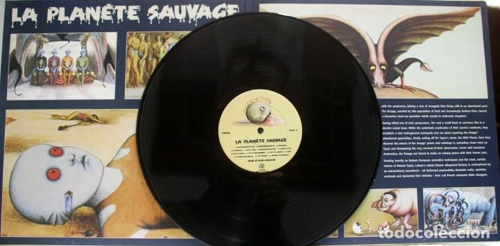 Discos de vinilo: LE PLANETE SAUVAGE. EL PLANETA SALVAJE. ALAIN GORAGUER. ROLAND TOPOR. RENE LALOUX - Foto 7 - 159374122