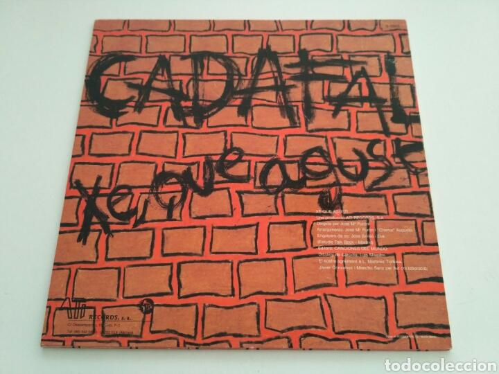 Discos de vinilo: Cadafal - Xe Que Agust - Foto 2 - 159374494