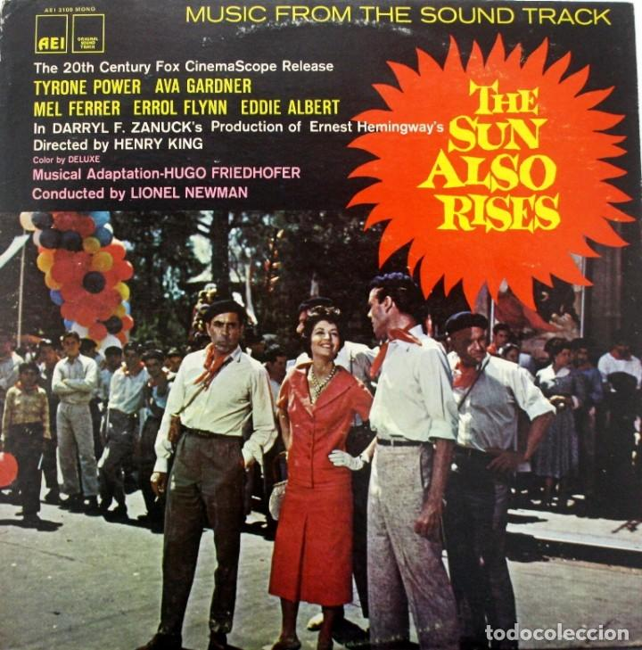 FIESTA. THE SUN ALSO RISES. HUGO FRIEDHOFER. LIONEL NEWMAN (Música - Discos - LP Vinilo - Bandas Sonoras y Música de Actores )